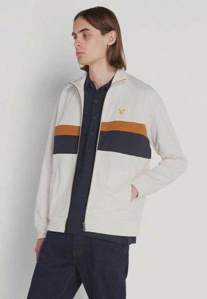 Zip-up hoodie - vanilla ice