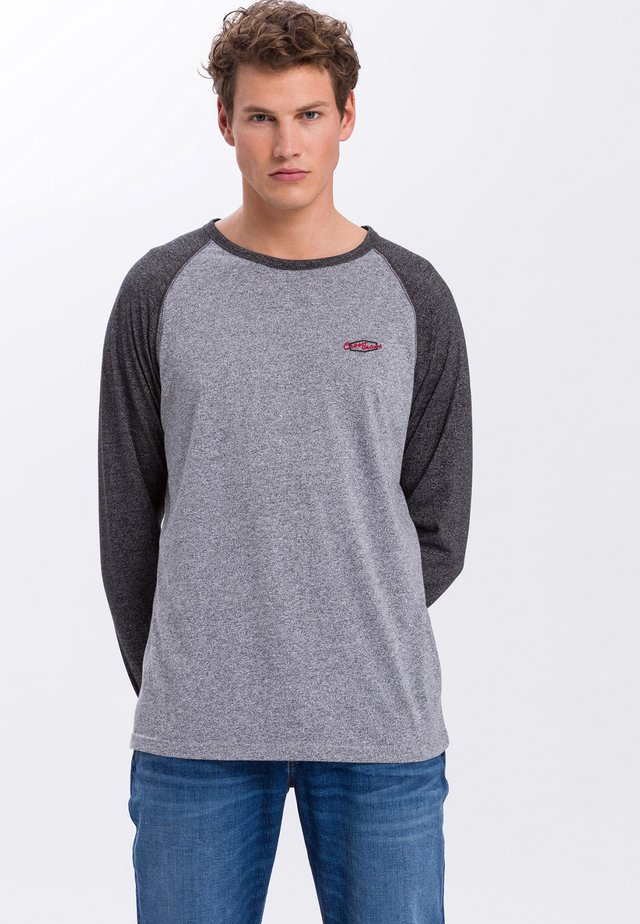 Long sleeved top - light-grey
