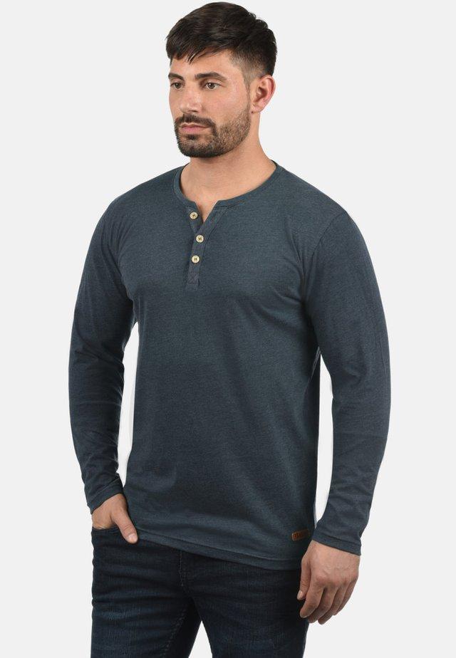 VOLKO - Long sleeved top - mottled blue