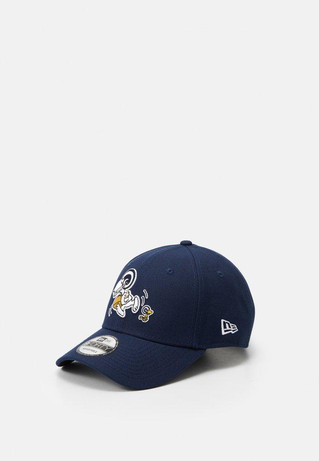 940 NFL PEANUTS LOSRAM - Czapka z daszkiem - dark blue
