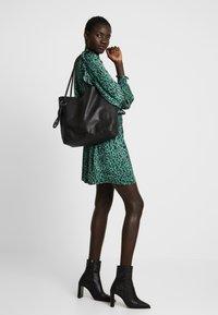 Zign - LEATHER - Handbag - black - 1