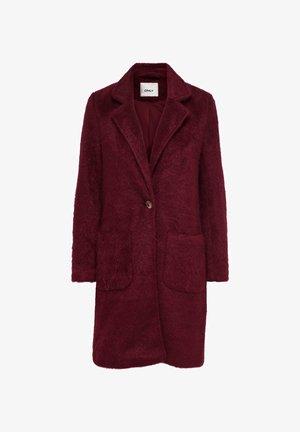 ONLCLAIRE COAT - Classic coat - pomegranate