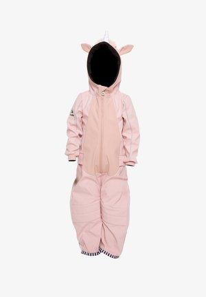 Rainsuit - unicorn pink