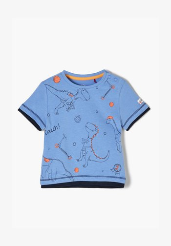 T-Shirt print - light blue placed print