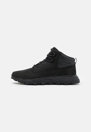 TREELINE - Lace-up ankle boots - blackout