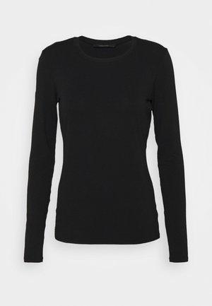 MULTIE - Long sleeved top - black