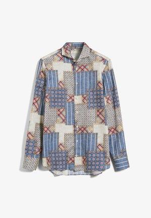 RESO-TF - Shirt - blau-rot