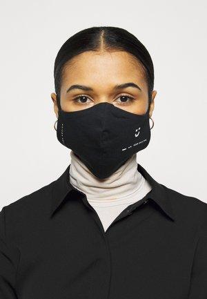 KEEP SMILING - Masque en tissu - black