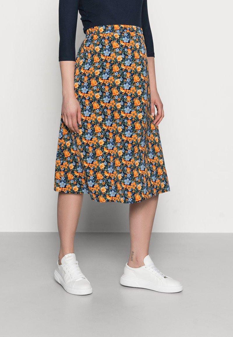 MAMALICIOUS - MLSIGA SKIRT - A-line skirt - twilight blue