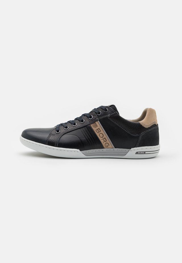 COLTRANE - Sneaker low - navy/beige