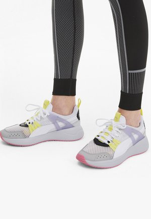NUAGE RUN CAGE SUMMER - Sports shoes -  white-purple heather