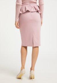 faina - Pencil skirt - rosa - 2