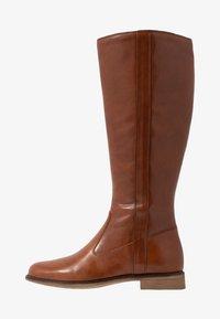 Anna Field - LEATHER BOOTS - Klassiska stövlar - cognac - 1