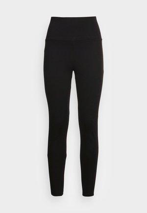 HIGH WAIST PUNTO  - Leggingsit - black