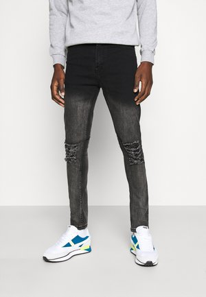 MORTON  - Jeans Skinny Fit - black