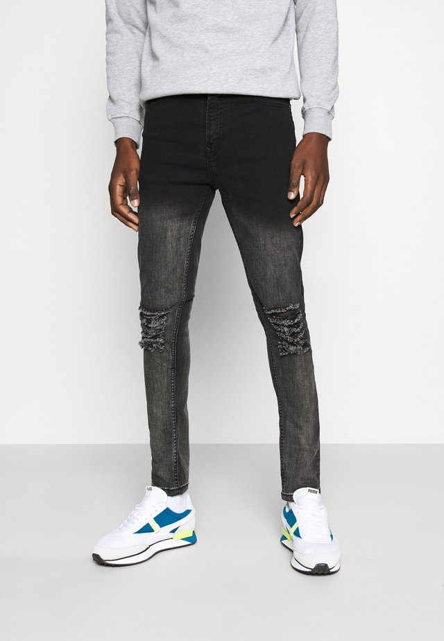 MORTON  - Skinny džíny - black