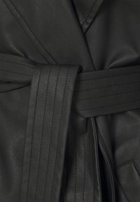 Missguided - BELTED BALLOON SLEEVE - Trenchcoat - black - 2