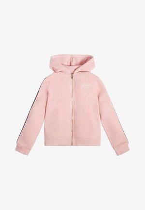 MIT REISSVERSCHLUSS - Bluza rozpinana - rose