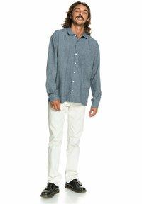 Quiksilver - Shirt - orion blue hemp check - 1