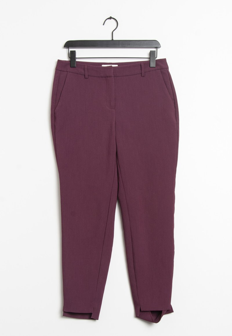 Selected Femme - Trousers - purple