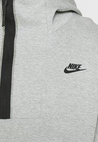Nike Sportswear - Hoodie -  grey heather/black - 4