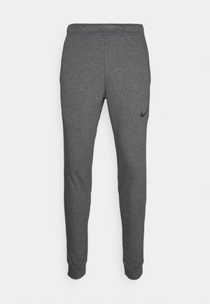 PANT TAPER - Pantaloni sportivi - charcoal heather/black
