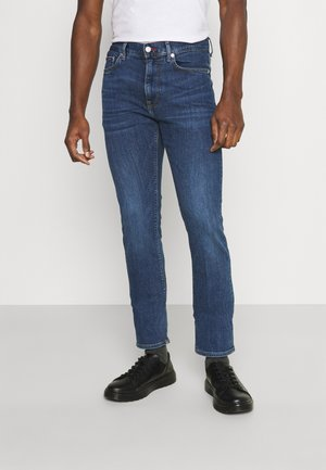 CORE BLEECKER SLIM - Džíny Slim Fit - oregon indigo