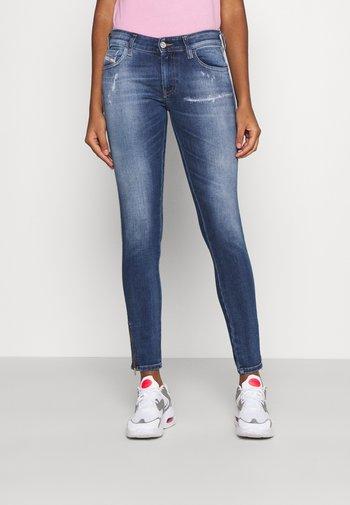 SLANDY-LOW-ZIP - Jeans Skinny Fit - medium blue