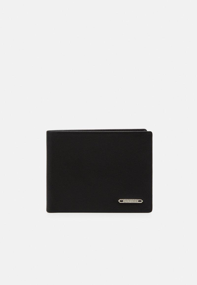 Guess - TYLER FLAT BILLFOLD - Wallet - black