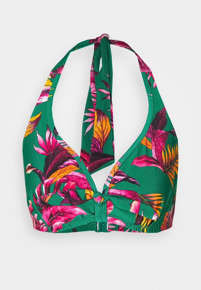 Pour Moi - PARADISO TRIANGLE HIDDEN UNDERWIRED - Bikinitop - green
