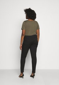 Persona by Marina Rinaldi - IESI - Slim fit jeans - black - 2