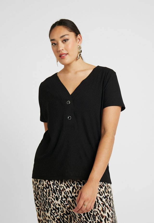 CARHELENE - T-shirt basique - black