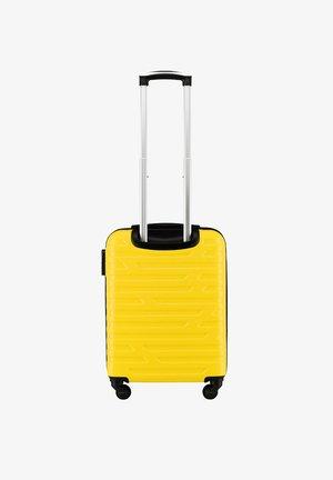 Wheeled suitcase - gelb