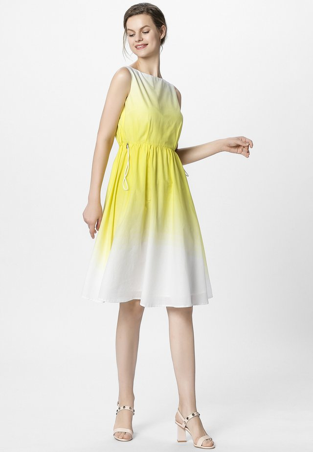 DIP-DYE DRESS - Vestito estivo - vanilla cream