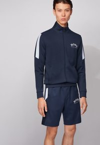 BOSS - SKAZ - Sweatjacke - dark blue - 0