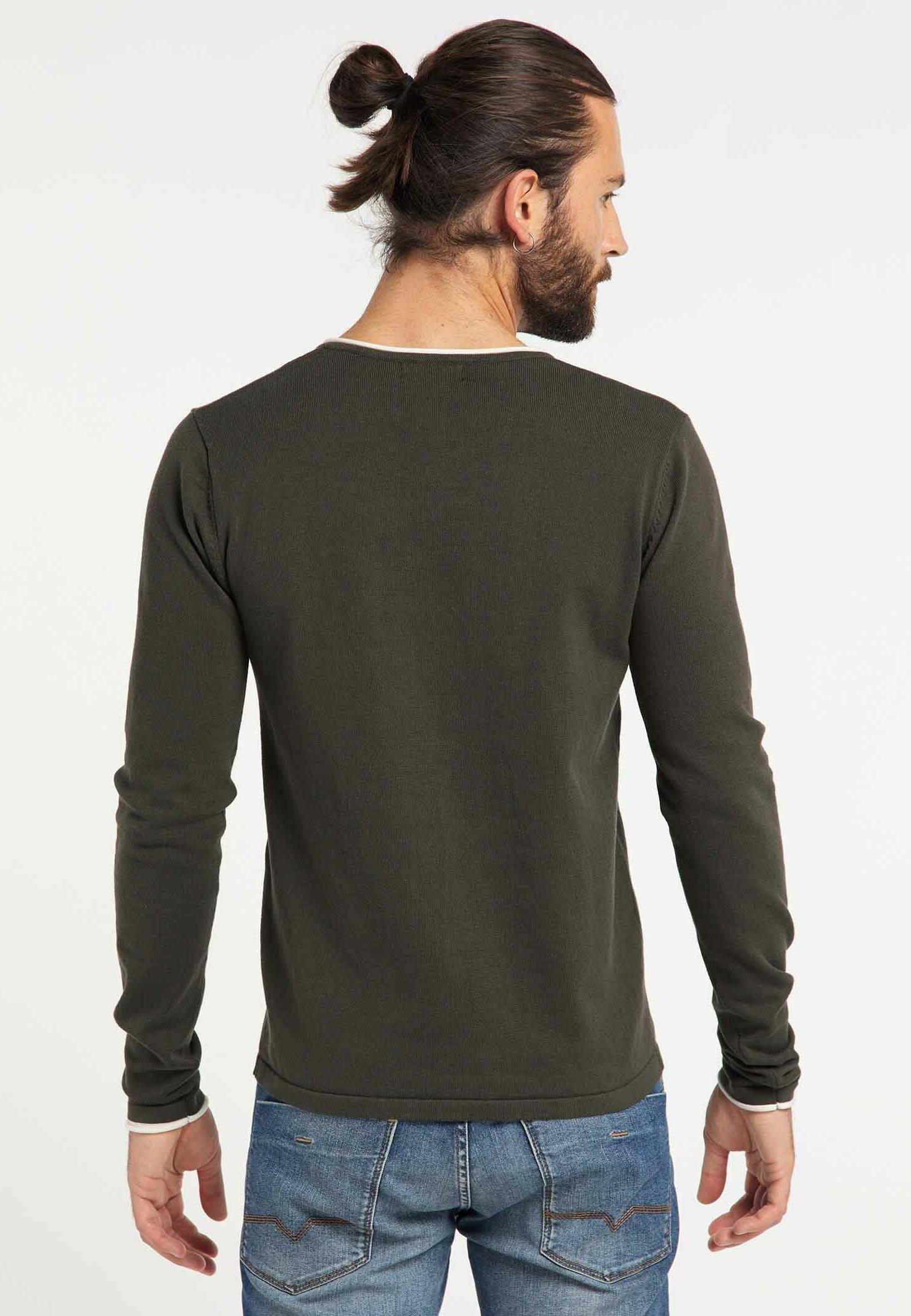 DreiMaster Pullover - army green