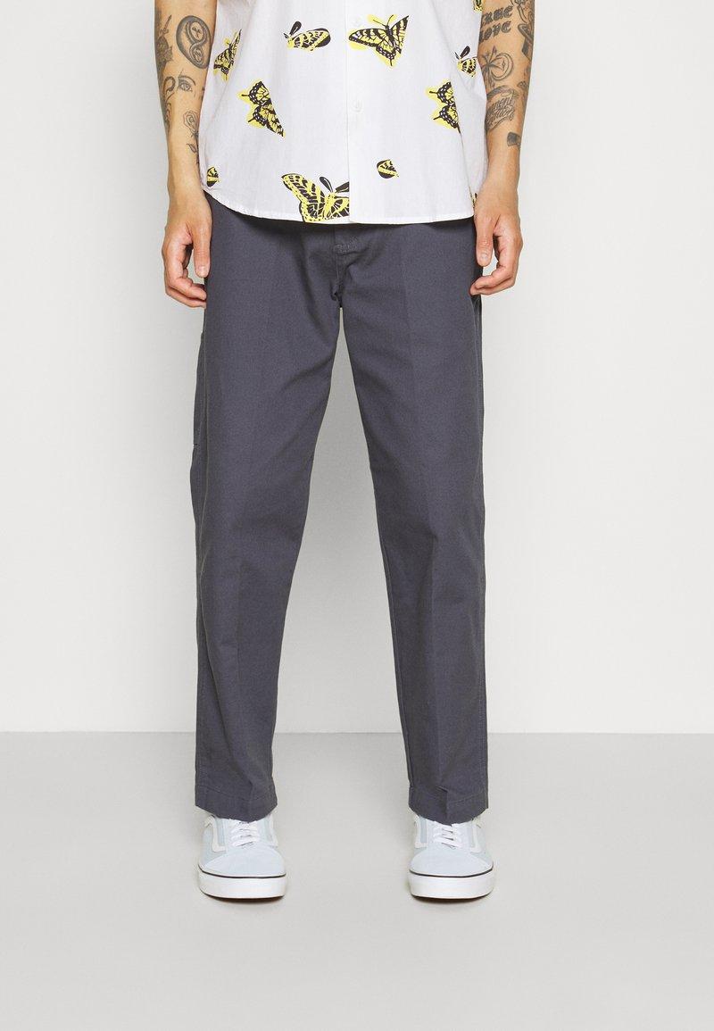 Obey Clothing - HARDWORK CARPENTER PANT  - Kangashousut - french navy