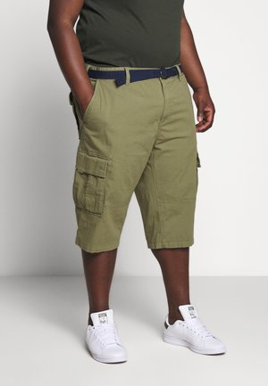 BERMUDA BELT 3/4 BIG - Shortsit - army green