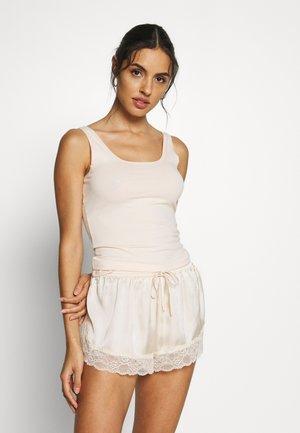 TANK TOP ADVANTAGE 2 PACK - Unterhemd/-shirt - vanilla selection