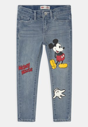 MICKEY MOUSE 710 SUPER SKINNY - Skinny džíny - light-blue denim