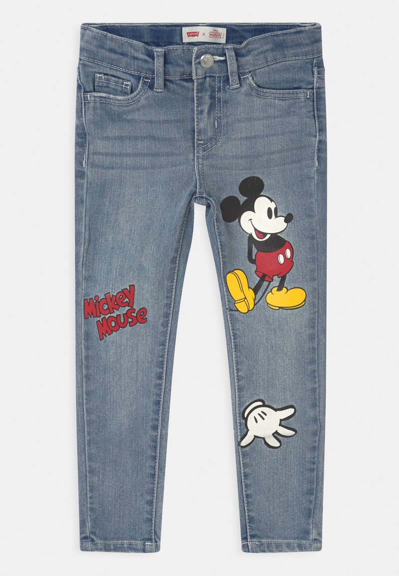 Levi's® - MICKEY MOUSE 710 SUPER SKINNY - Jeans Skinny - light-blue denim