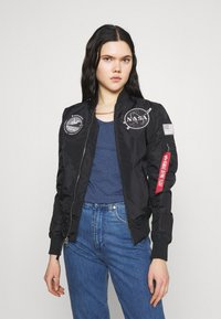 Alpha Industries - NASA REVERSIBLE  - Bomber Jacket - black - 0