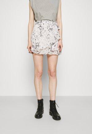 KASA YERMO SKIRT - Minifalda - ecru/white