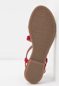 s.Oliver BLACK LABEL - Sandals - red - 6