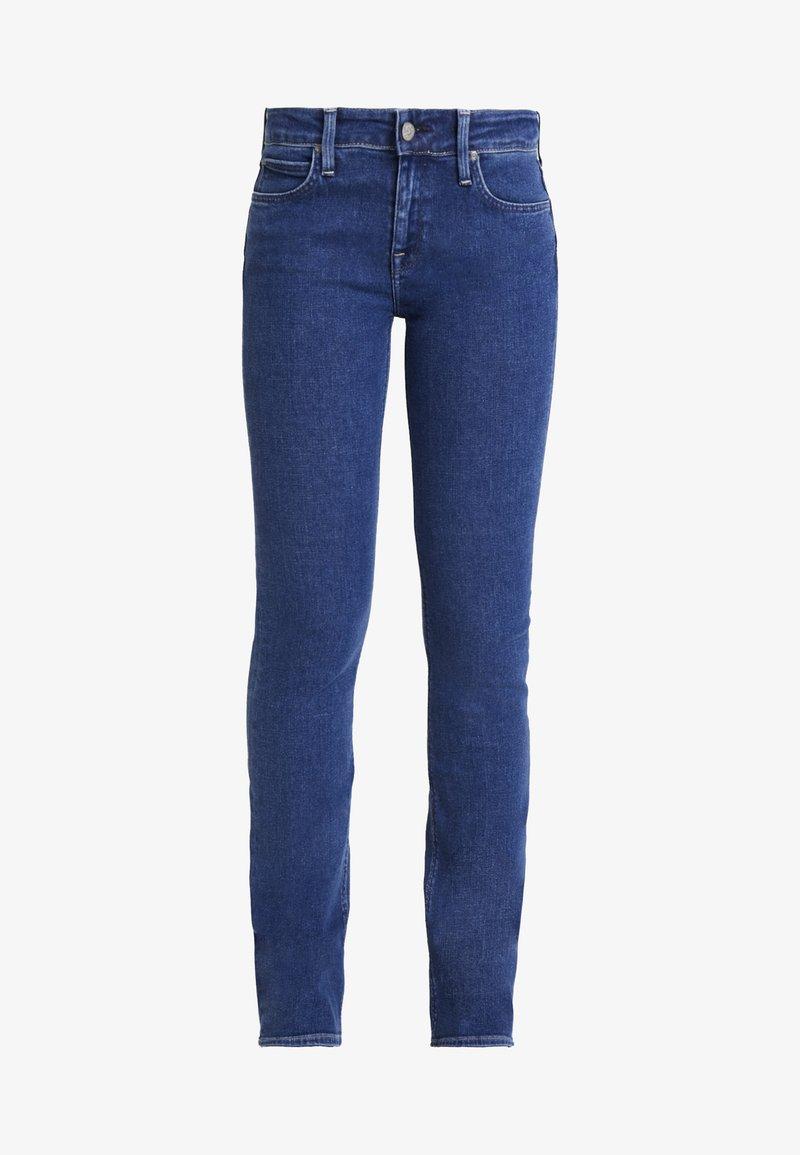 Lee HOXIE - Jeans Bootcut - blue/dark-blue denim sg9o0c