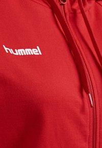 Hummel - HMLGO - Zip-up sweatshirt - true red - 3