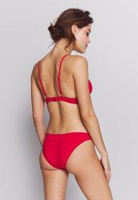 ONLY - ONLNITAN SET - Bikini - mars red - 2