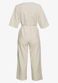 Selected Femme - SLFMALVINA - Jumpsuit - sandshell - 1