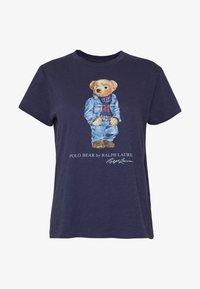 Polo Ralph Lauren - BEAR SHORT SLEEVE - T-shirt con stampa - classic royal - 3