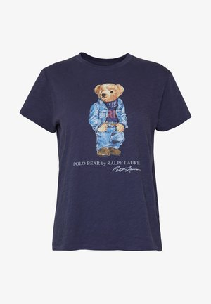 BEAR SHORT SLEEVE - T-Shirt print - classic royal